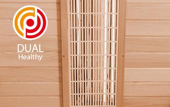 Emisores Dual Healthy sauna Spectra