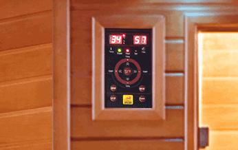 Panel de control sauna Spectra