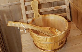 Accesorios sauna Zen