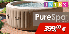 Oferta spa hinchable Intex