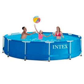 Piscinas Intex Metal Frame & Ultra Frame circulares