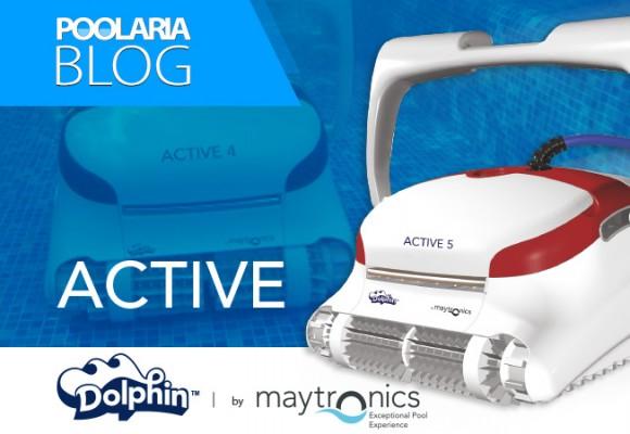 Dolphin Active: la familia de limpiafondos más completa