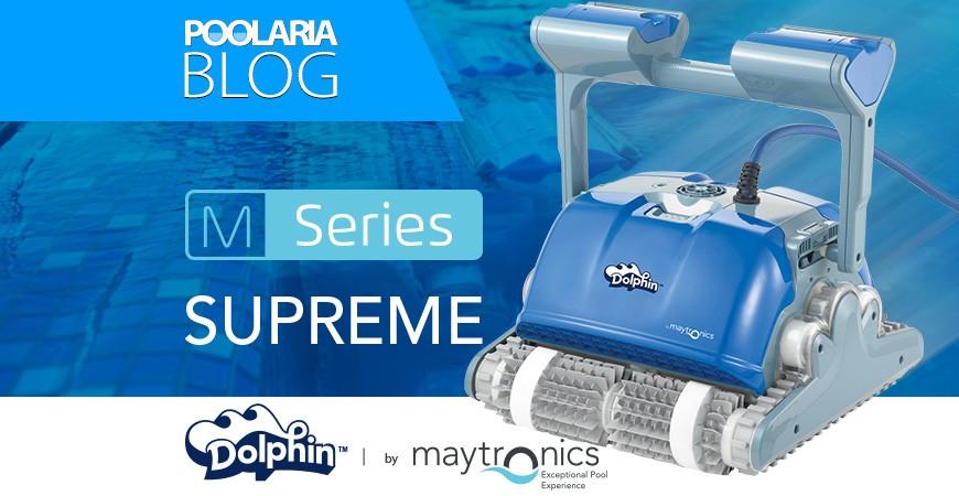 Dolphin Supreme: la gama alta en robots limpiafondos